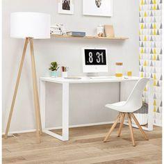 Style nordique et mise à l'honneur des lignes épurées et couleurs lumineuses. Le bureau ANTOUL incarne parfaitement l'ambiance scandinave.