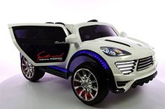 NEW RIDE ON TOY CAR Porsche Cayenne Style 12v battery, two 12v motors.Remote control.