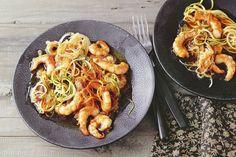 Gemüsenudel-Pad-Thai - Katja S. Paella, Noodles, Chicken, Meat, Ethnic Recipes, Food, Light Recipes, Fast Recipes, Asian Noodles
