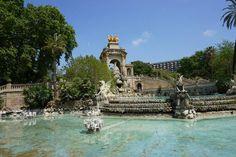 Brunnen im Park Ciutadella in Barcelona
