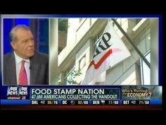 Food Stamp Nation! - Sign 'Em Up! - AARP Pushing Food Stamps For Seniors - Stuart Varney   Mass Tea Party