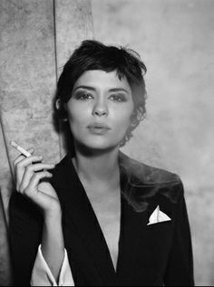 Audrey Tautou. this cut looks so good on her