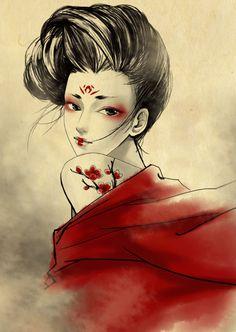 Red ink by *starkey01 on deviantART