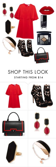 """hot lady"" by znystyle ❤ liked on Polyvore featuring Sonia Rykiel, Givenchy, 1st & Gorgeous by Carolee, Jaeger and Christian Dior"