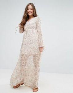 Vero Moda Fabs Ditsy Floral Maxi Dress