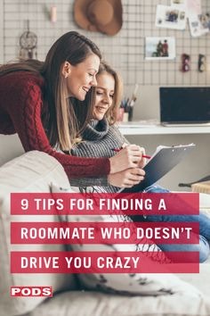 Maybe you haven't had the best of luck in the past finding a roommate. Or, perhaps this is your first time looking for a roommate. From asking the right questions to doing your research, use our 9 tips to find roommates you'll look forward to coming home to. #ContainingTheChaos #PODS Dorm Room Layouts, Dorm Room Designs, Moving Tips, Moving Out, Looking For Roommate, Roommate Agreement, Dorm Room Checklist, Planning A Move
