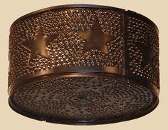 Cake Pan Ceiling Light