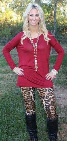 Soft and Snuggly Cheetah Leggings