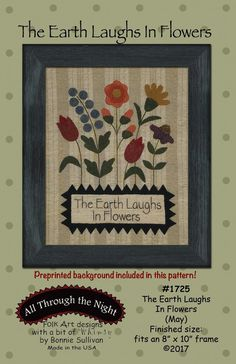 The Earth Laughs in Flowers (May) - Winterberry Cabin