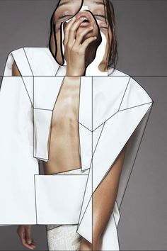 20 Creative Fashion Collages | StyleCaster  Photo: Behance