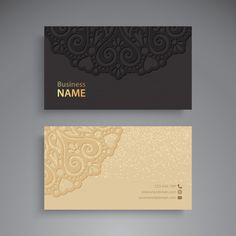 Art Business Cards, Beauty Business Cards, Luxury Business Cards, Black Business Card, Simple Business Cards, Business Card Design, Visiting Card Format, Visiting Card Design, Free Printable Business Cards