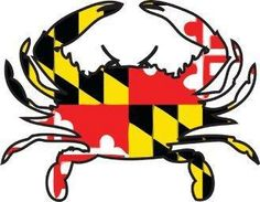 Shop Maryland Crab Button designed by THEOLDCOOT. Lots of different size and color combinations to choose from. Baltimore Maryland, Baltimore Orioles, Crab Art, Ocean City, Rock Art, Painted Rocks, Flag, My Favorite Things, My Love