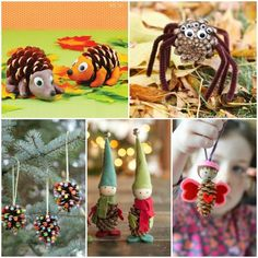 Looking for some fun fall and winter pine cone crafts for kids? These cute pine cone crafts are so fun and creative they'll keep your kids busy for hours!