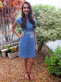 Celeida Ribeiro: Crochet Dress
