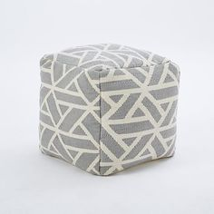 another cute pouf from west elm.