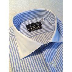 Teri Jon Pour Monsieur Men's Egyptian Dress Shirt (15.5 inch)