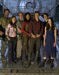 The crew...