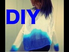 Sweater DIY