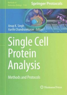 Single Cell Protein Analysis: Methods and Protocols