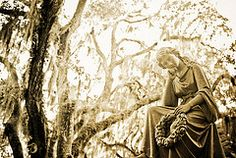 Bonaventure Cemetary - Savanna, GA. Peaceful, historic and photogenic. Midnight in the Garden of Good and Evil was filmed here. Not sure how kosher it is to film a movie in a cemetery but I'm sure they richly compensated them to beautify the grounds.