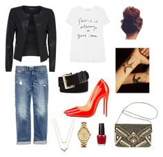 Designer Clothes, Shoes & Bags for Women Opi, Vince Camuto, Lacoste, Polyvore Fashion, Madewell, Christian Louboutin, Rocks, Michael Kors, Night