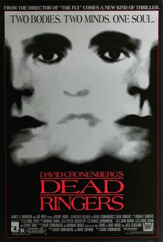 Dead ringers by David Cronenberg DVD - This movie was intense and confusing... my favorite kind.