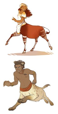 centaurs 5 + 6 by scrii on DeviantArt