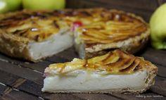 JULIA Y SUS RECETAS: Tarta de manzana con leche condensada