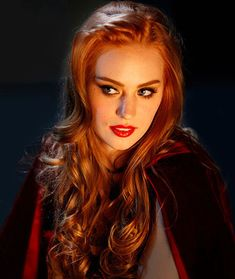 Deborah Ann Woll love her hair and make up and this scene is awesome