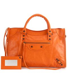 Balenciaga Classic City Leather Satchel