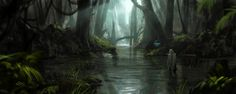 ArtStation - Swamps, Thomas BIGNON