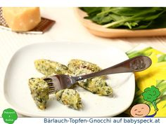 Bärlauch-Topfen-Gnocchi - handliche, weiche Gnocchi aus Bärlauch und Quark, perfekt mit geschmolzener Butter und Parmesan