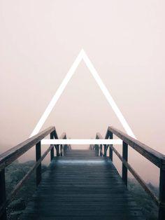 Geometrischer Raum - Digitale Fotomanipulation von Oliver K https://www.langweiledich.net/geometrischer-raum/