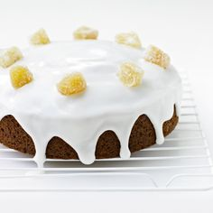 Delia's Iced Honey and Spice Cake recipe. This is another cake that has a unique and different combination of punchy flavours – which makes it good for eating out-of-doors. Great for a picnic or afternoon tea in the garden. Spice Cake Recipes, Tea Recipes, Recipies, Ginger Loaf, Savory Scones, Cake Mixture, Tea Sandwiches, Just Cakes, Pie Cake