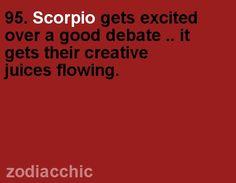 ZodiacChic Post:Scorpio