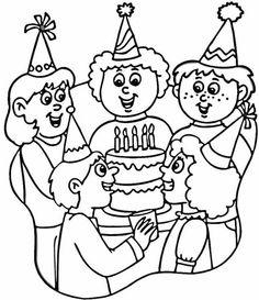 Wish Your Family Friends With The Best Free Printable Happy Birthday Coloring Pages For Kids And Adults