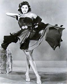 """Cyd Charisse para """"Sombrero"""", 1953"""
