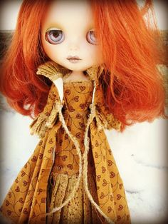 Blythe 2-Piece Cloak and Gown. $32.00, via Etsy.