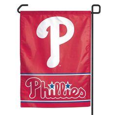 Philadelphia Phillies MLB Baseball Garden Flag