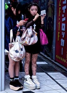 Japanese street fashion.