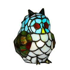 Oaks OT 850 Owl 1 Light Tiffany Animal