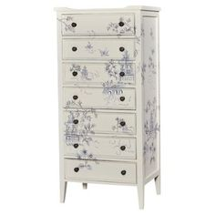 Check out this item at One Kings Lane! Tall Pimlico Dresser, Light Gray
