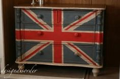 Painted dresser from Design Disorder
