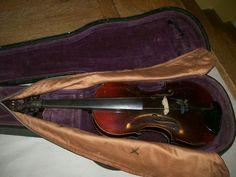 violin Antonius Straduarius cremona w/case Violin Parts, Violin Case, Violin Bow, Ebay