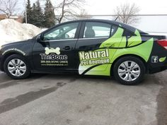 Awesome original design vehicle graphics package installed on a Chevy Cruze.....love it!