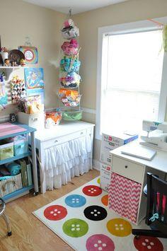 my happy little studio.
