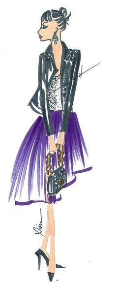 Ilustradora de Moda Maria Alice Ximenes²