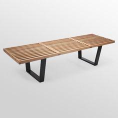 wood metal coffee table - Google Search