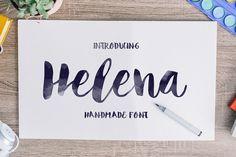 Helena Font by Noe Araujo on @creativemarket