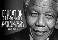 Today we honor a great leader who inspired a generation. #NelsonMandela #inspirationalquote #quote